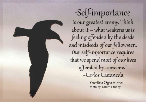 Self-important-is-our-greatest-enemy-quotes