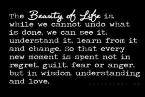 beauty of life