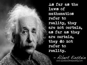 Einstein-reality